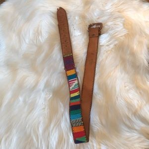 Other - Guatemalan Leather Belt